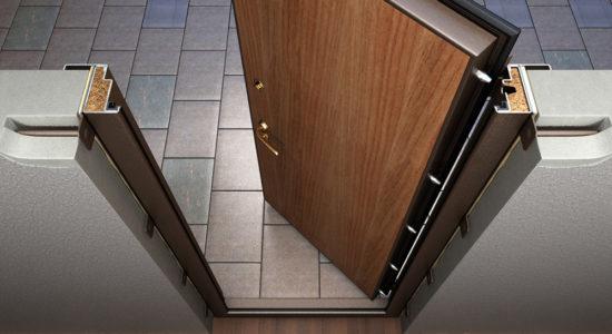 стоимость установка двери входной металлической